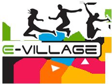 logo van E-Village